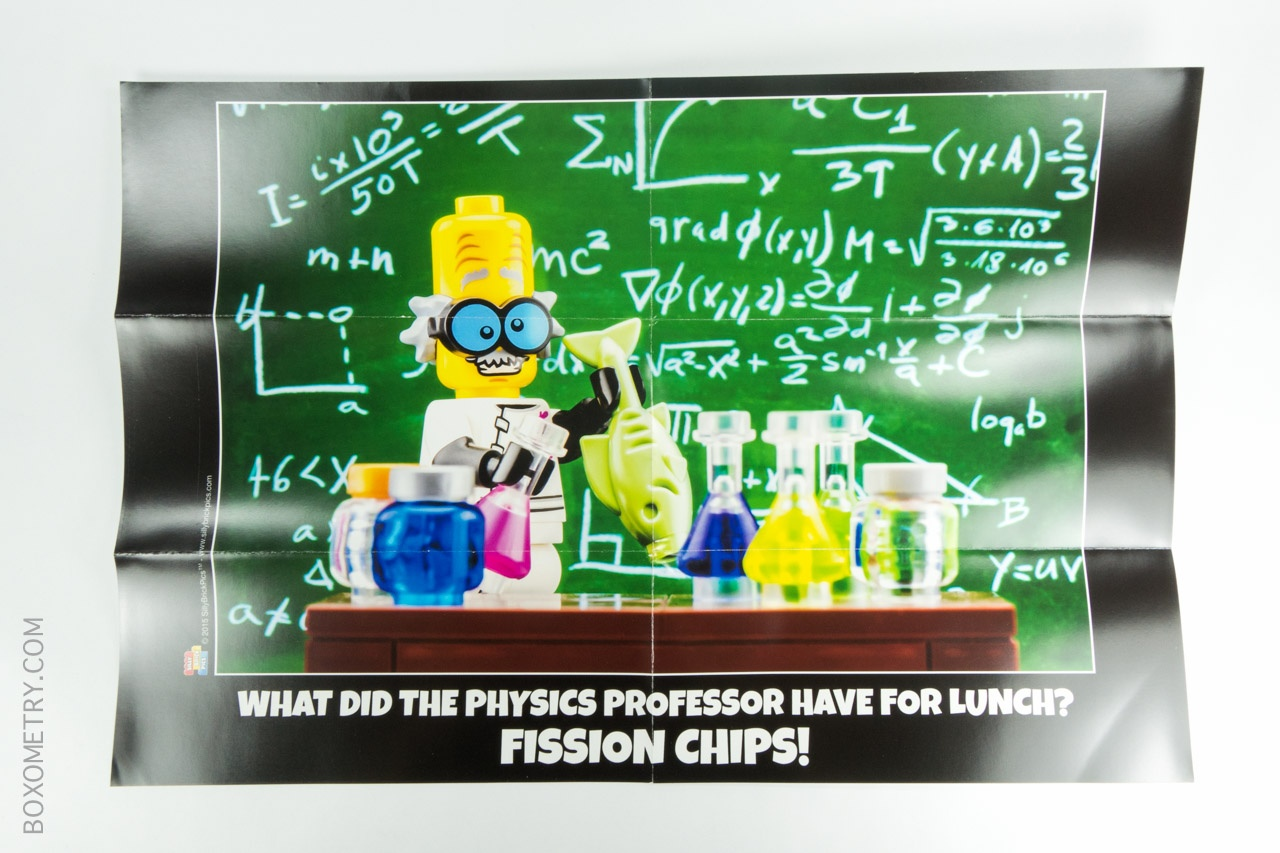 Boxometry BrickSwag November 2015 Review - Fission Chips Poster