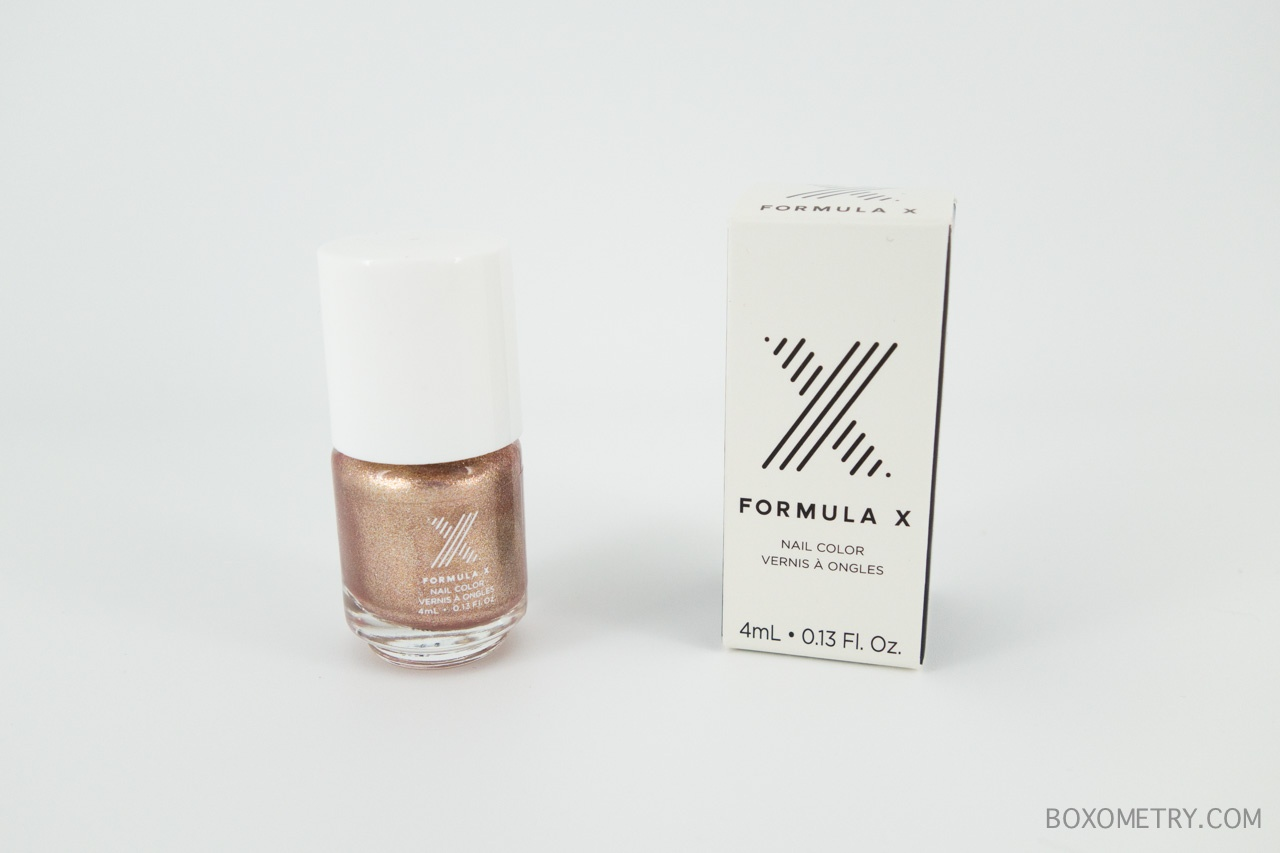 Boxometry Ipsy December 2015 Review - Formula X Nail Polish