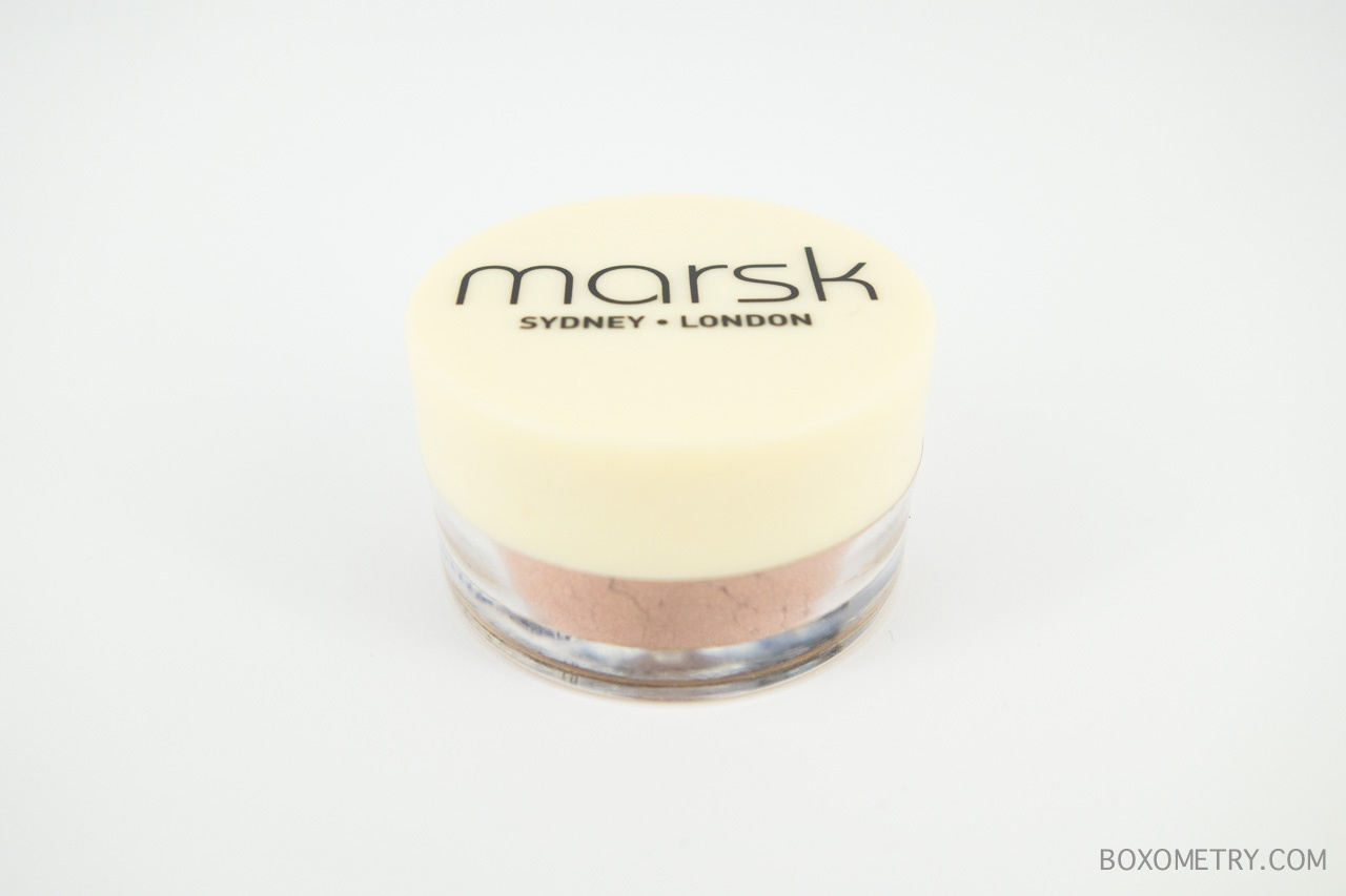 Boxometry Ipsy January 2016 Review - Marsk Mineral Eyeshadow in You're Toast