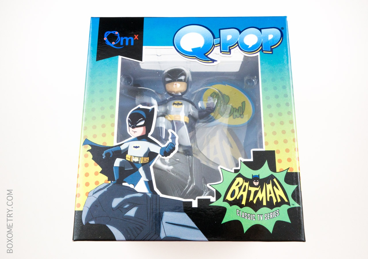 Boxometry Loot Crate July 2015 Review - Exclusive TV Series Batman Q-Pop Figure
