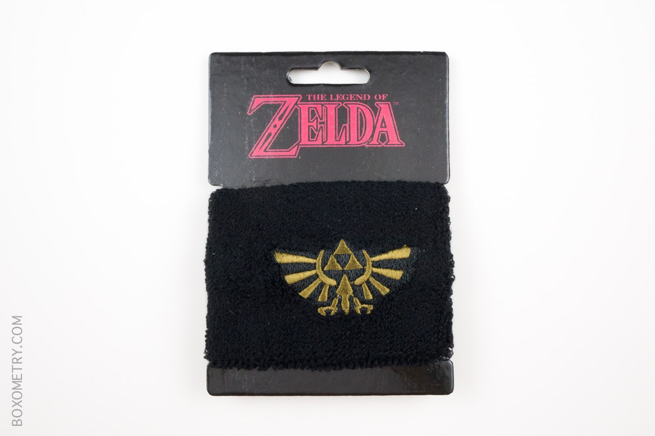 Boxometry Loot Crate July 2015 Review - The Legend of Zelda Sweatband