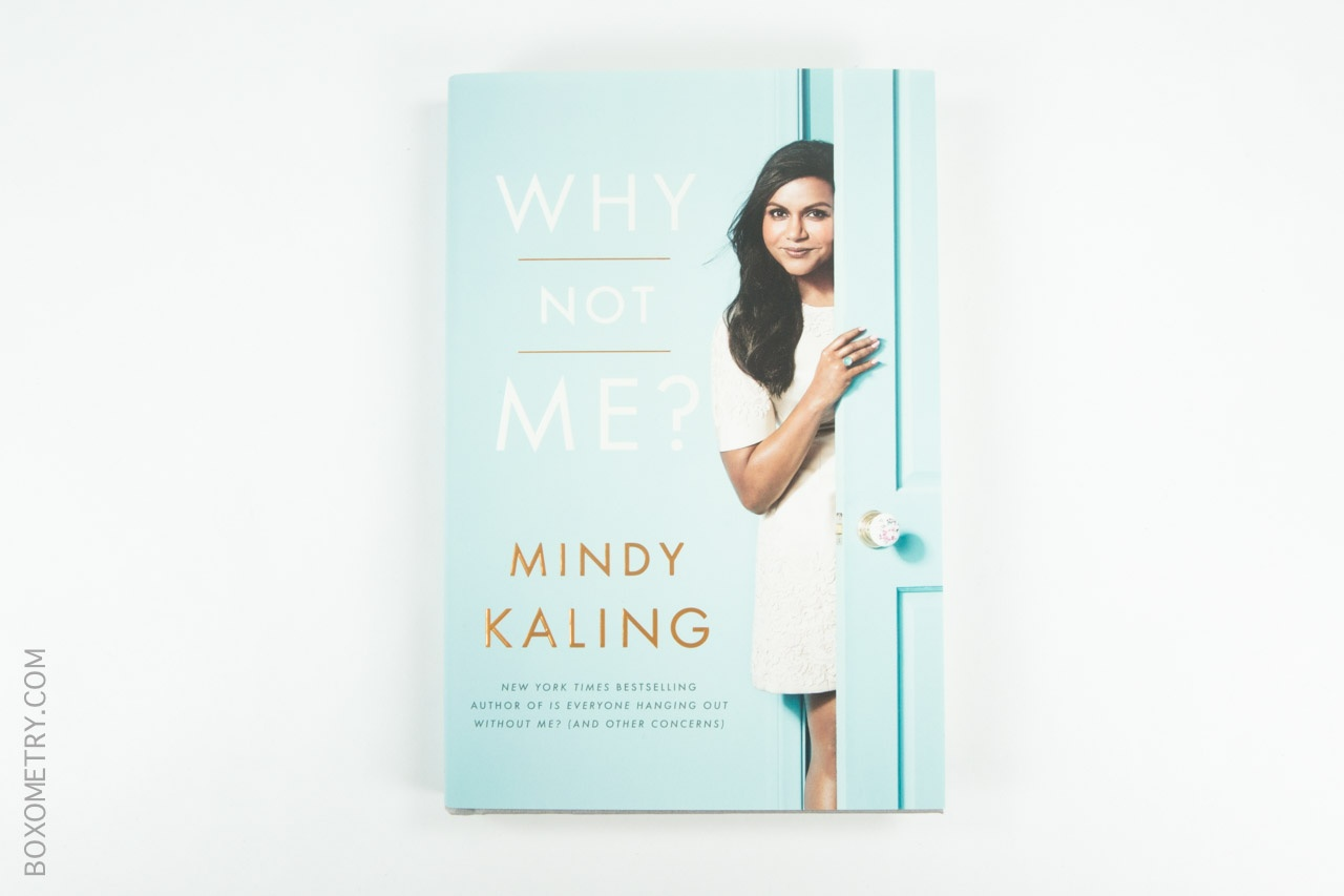 Boxometry POPSUGAR Must Have October Review - Why Not Me? by Mindy Kaling