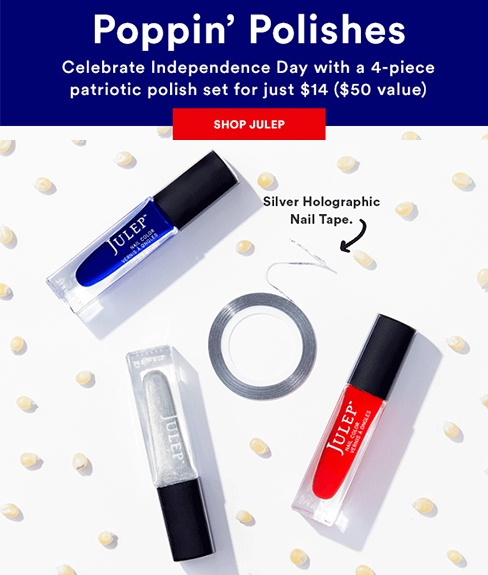 Julep July 4th Deal 2016