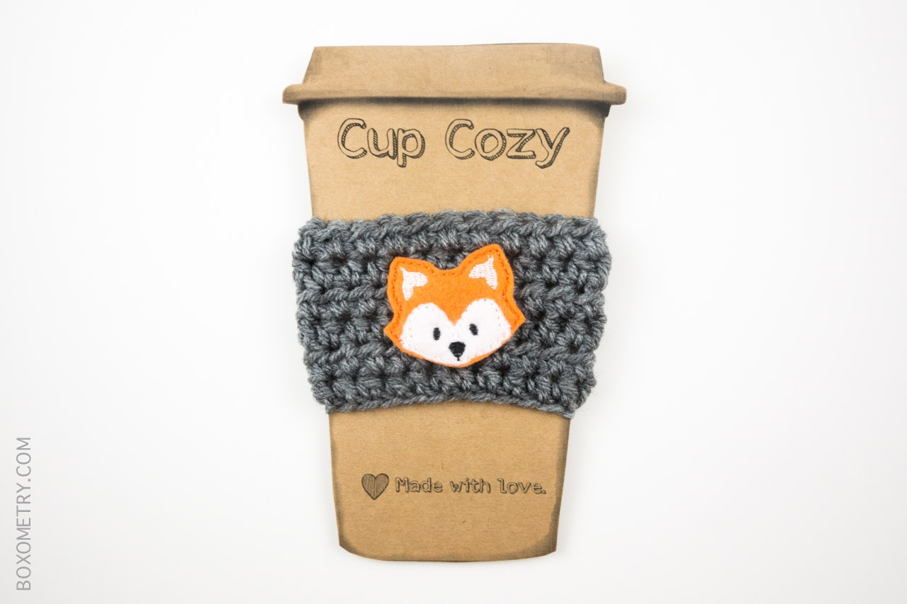 Boxometry Love The Crafty Mail July 2015 Review - Cup Cozy (CraftyCousinsSC)