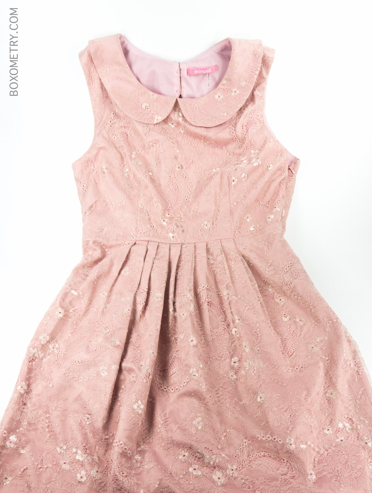 Boxometry Kairos October 2015 Review - Hand Selected Dress (TheNiftyThriftyFox)